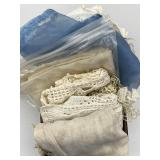 Doilies,hand Stitched Linens
