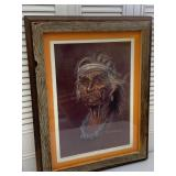 Signed Framed Print: Indian