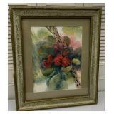 Framed Art: Cactus Flowers
