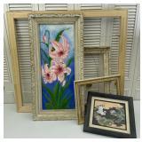 Wooden Frames, Framed Art: Lillys