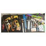 Toys, Guns, Swords, Sparklers, Silly String