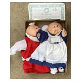2pc Cabbage Patch Dolls