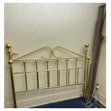 Brass Headboard, Footboard, Frame Rails