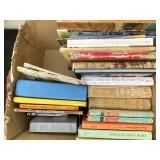 Vintage Novels, Art, Reference Books