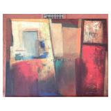 Large  Abstract Wall Art On Canvas