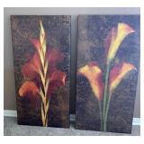 2pc Large Canvas Art: Calla Lily, Cana