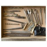 Drill Bits, Files, Wood Bits, Allen Wrenches