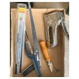 Hacksaws, Blades, Cutter, Staple Gun