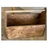 """21"""" Homemade Wooden Toolbox"""