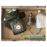 Rotary Dial Telephone, Vintage Items