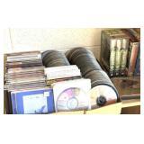 Music audio CDs, VHS