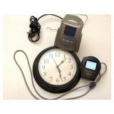 Sound Machine Alarm Clock, Portable Tv, Wall Clock