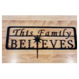 This family believes sign #1
