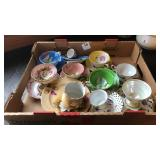 Box of tea cups