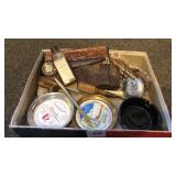 Box of miscellaneous antiques