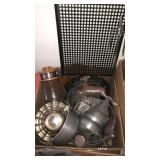 Box of metal ware