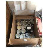 Box of coffee mugs