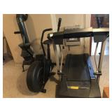 Treadmill and elliptical