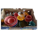 Fiestaware and imperial dishware