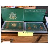 Two sets of United States mint proof set, 1996