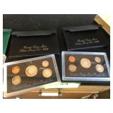 Two sets United States mint Silver proof set 1996