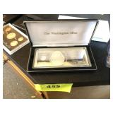Washington meant $100 silver proof, 1999,
