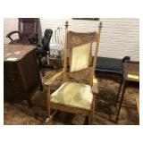 Rocking chair with tooling