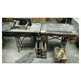 Sewing machines, parts, drawers and pieces