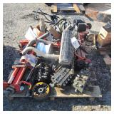 Pallet of Misc Lawn Equipment