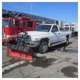1999 Dodge Ram Plow Truck