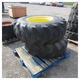 2-Firestone 16 9-24 Tires