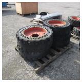 4-31x6x10/10-16.5 Tires