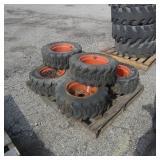 6-Titan 23x8.50-12SS Tires