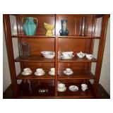 tea cups and saucers, gravy boat and more