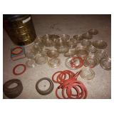 Kerr glass lids and rings