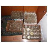 100 plus quart jars, Kerr, Atlas, Ball, Drey