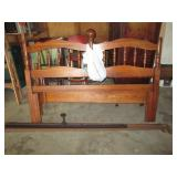 double headboard and frame