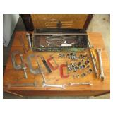tool tray with tools