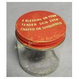 Vintage Mark Wallen & Co. PREP cream jar, Detroit