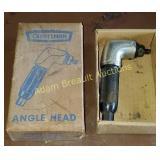 Craftsman angle head attachment,  model 605.18500