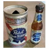 2 vintage Pabst Blue Ribbon collectibles