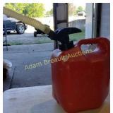 Blitz 2 gallon plastic gas can