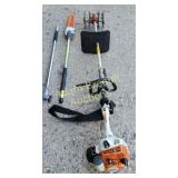 Stihl KM 55 RC gas powered cultivator with