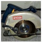 Ryobi CSR123 electric 7.25 circular saw, works