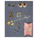 8 assorted earrings