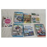 7 assorted Wii video games - FIFA Soccer 13, Wii