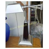 Modern extendable 17 in table lamp