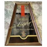 Michelob Light beer mirror, 14.25 x 20