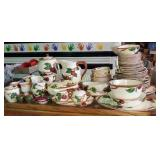 70 pc Franciscan made in USA porcelain dishes