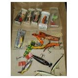 15 assorted vintage fishing lures
